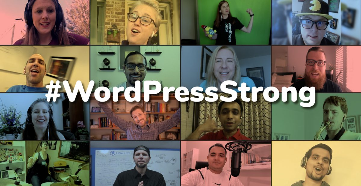 WordPress Strong Montage